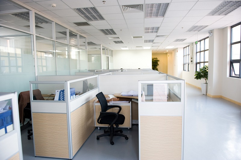 Cubicles in Workspace