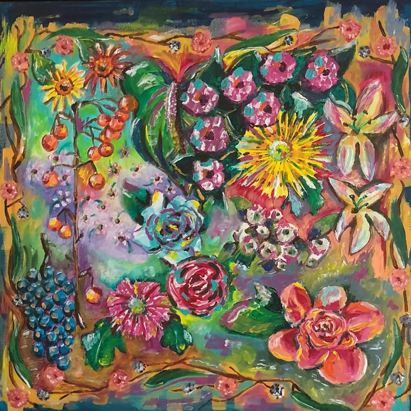 Kleurrijke schilderijen, Ingrid Hurkmans