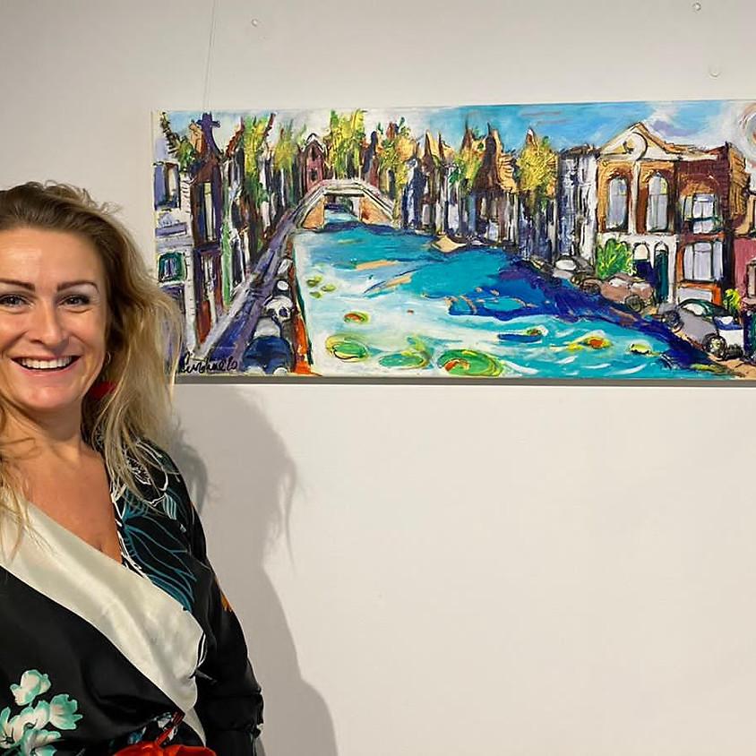 Caroline Navarro, paintings to help stir emotions of joy and happiness, Expositie verlengd!