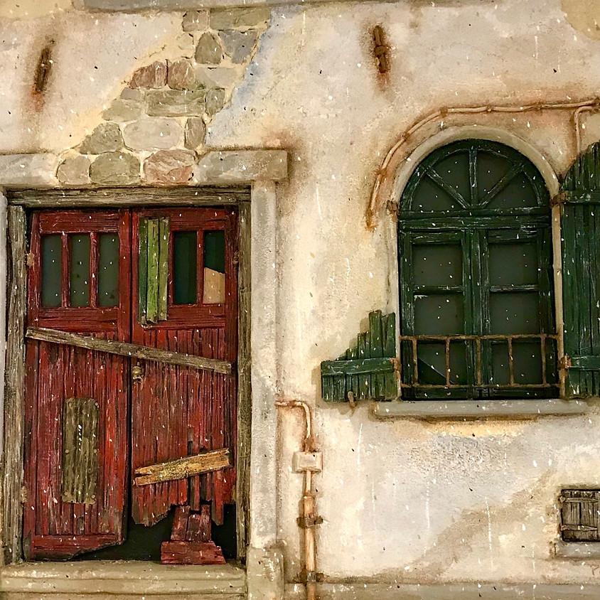 Gevels met Karakter, façades van Piet Bleijenga. Expositie verlengd tot 31 aug. '20