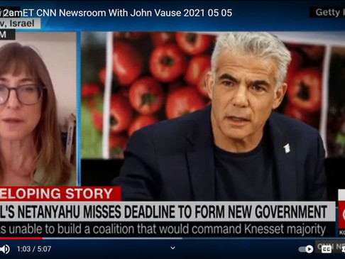 CNN interview: Netanyahu loses mandate to form government