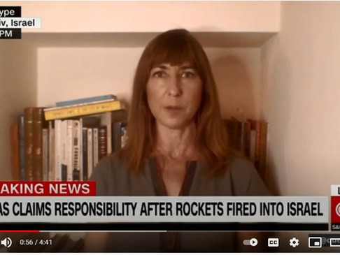 CNN interview: Israeli police and Palestinians clash on election day
