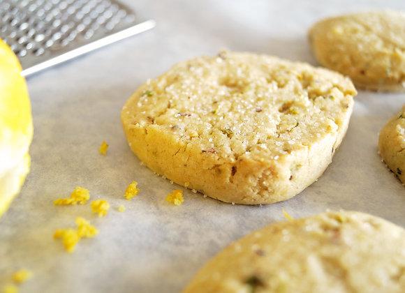 Parcel of Lemon & Mint Biscuits