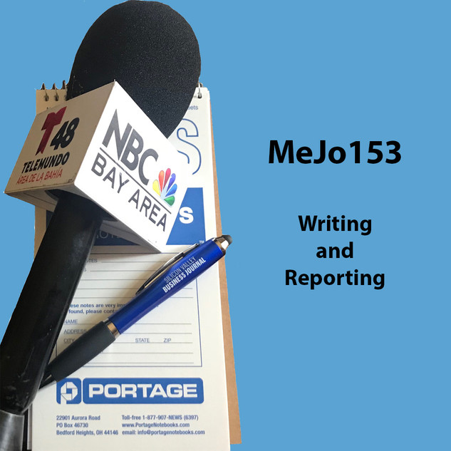 MeJo153 Writing and Reporting