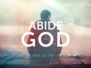 Abide in God