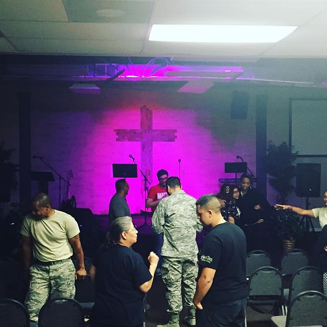 Great worship and prayer experience yesterday. We also had a great time connecting and sharing life