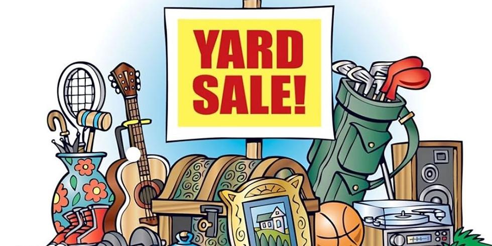 GIANT Yard Sale and Artisan Sale