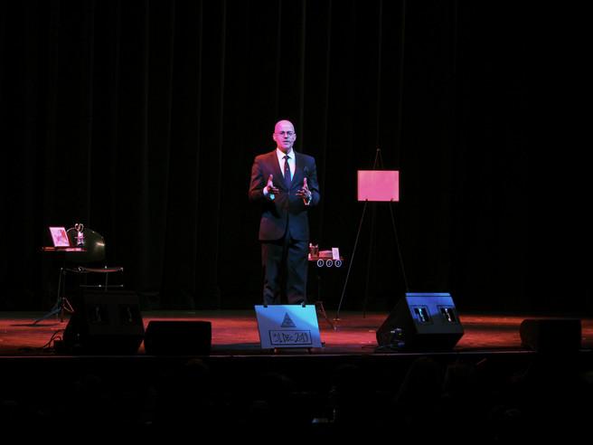 At the Mayo Performing Arts Center, 2019