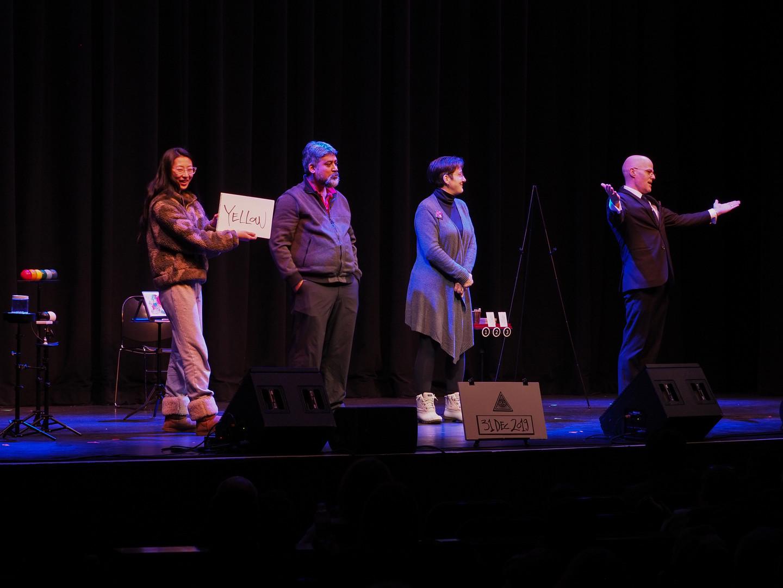 At the Mayo Performing Arts Center, Dec.