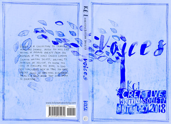 'Voices' Book cover for King's College L