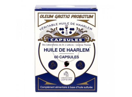 Qu'est ce que l'huile de Haarlem ?