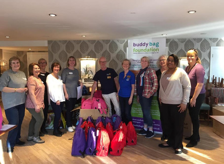 Support for Buddy Bag Foundation