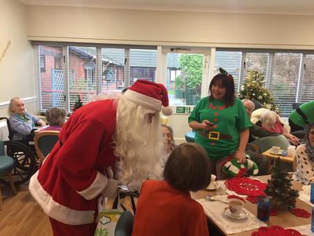 Santa Visit to St Catherines