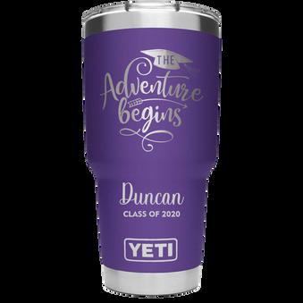 Peak Purple YETI - The Adventure Begins.