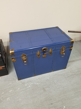 Blue Lift Top Trunk / Chest with Studded Design