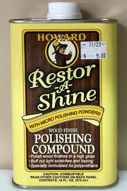 16 oz. Restore-A-Shine $9