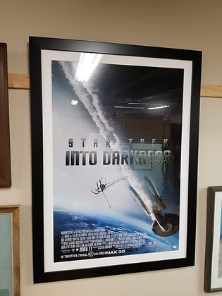 Signed & Framed JJ Abrams 'Into Darkness' Movie Poster #A150