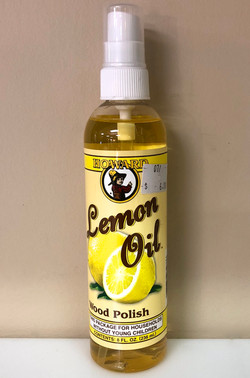 8 oz. Lemon Oil $6