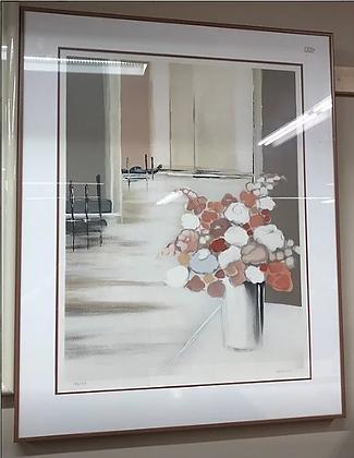 Flowers in Vase Wall Art #A16