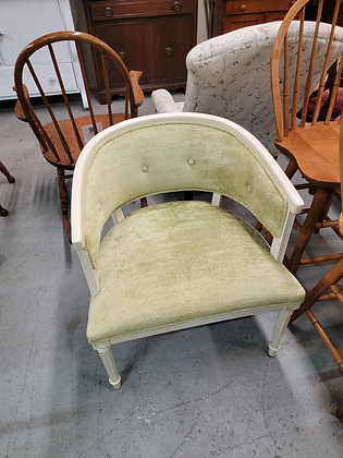 Green Tufted Accent Chair
