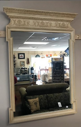 Beautiful Ornate Wood Framed Wall Mirror by Henredon #M23