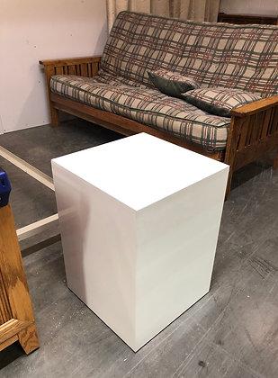White Rectangular Display Base / Stand
