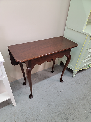 Drop Leaf Mahogany Stand Williamsburg Reserve Collection by Stickley