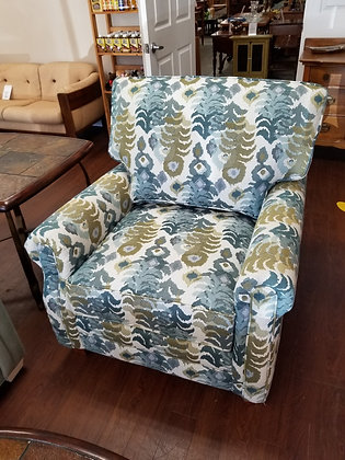 Funky Multi Color Upholstered Accent Chair