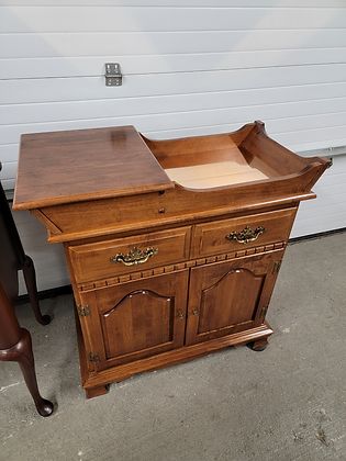 Single Drawer Solid Wood Washstand