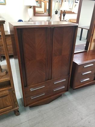 Lane Mid Century Mcm Tall Wood Dresser Wardrobe