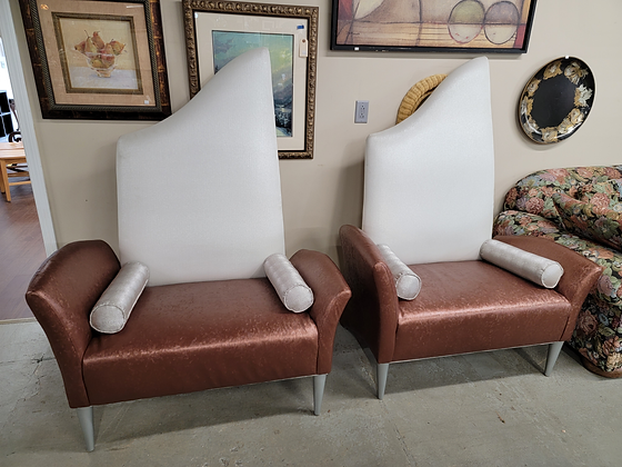 Large Funky Designer Accent Chairs
