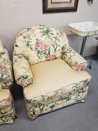 Harden Floral Upholstered Accent Chair W Removable Cushions (2 of 2)