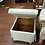 Thumbnail: Lift Top Upholstered Storage Ottoman Footstool