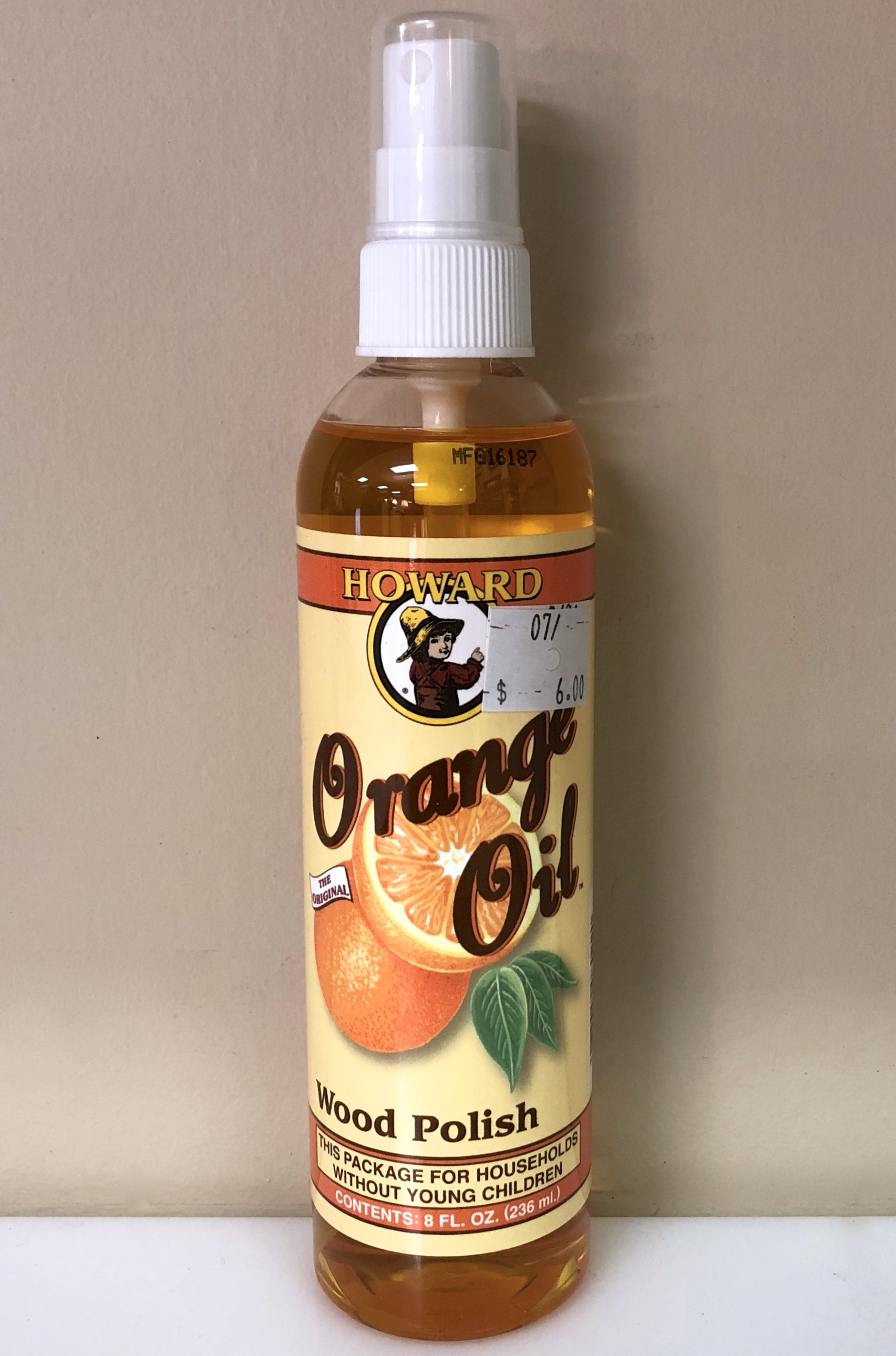 8 oz. Orange Oil $6