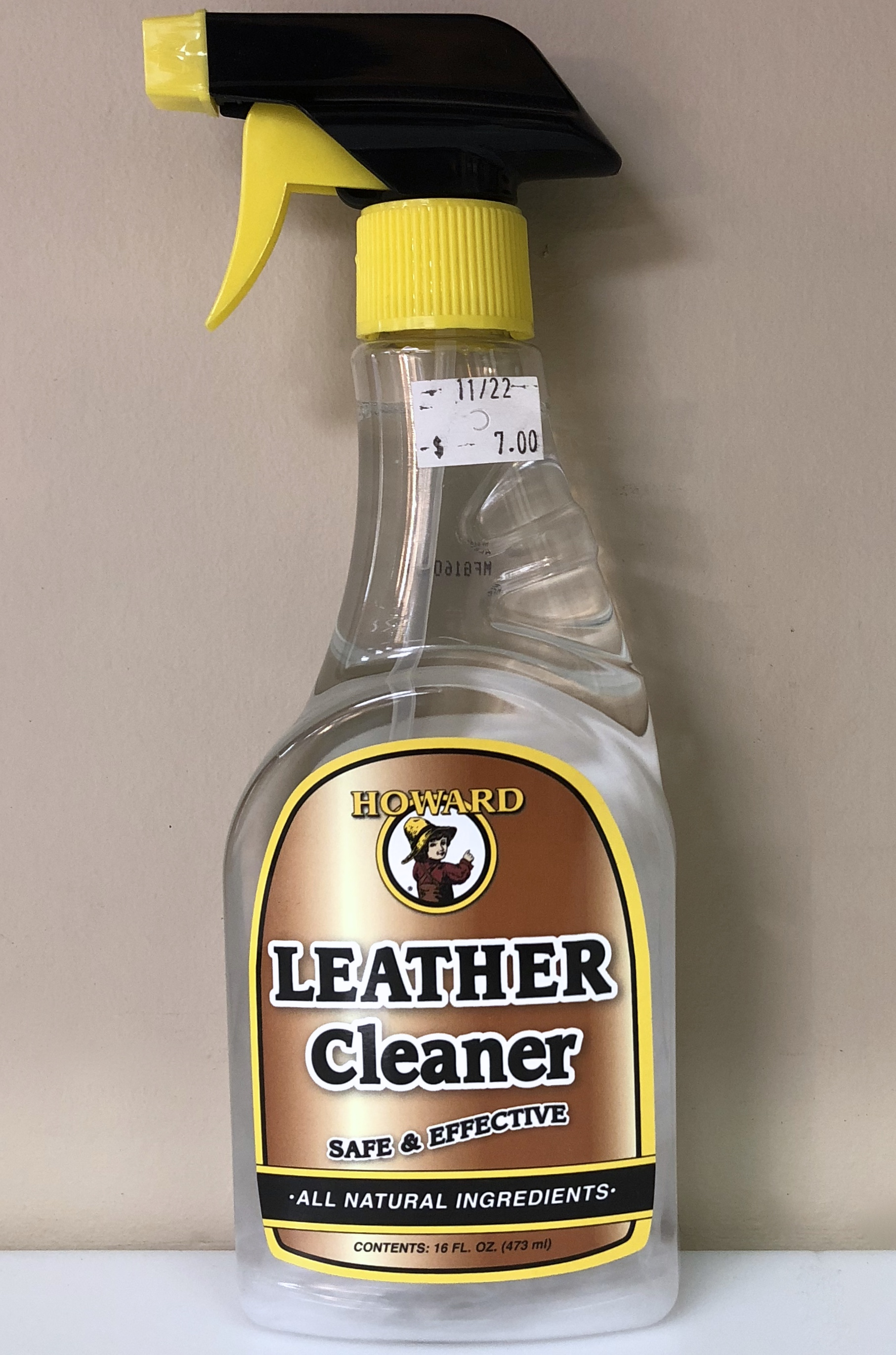 16 oz. Leather Cleaner $7