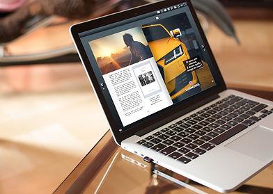Macbook table salon