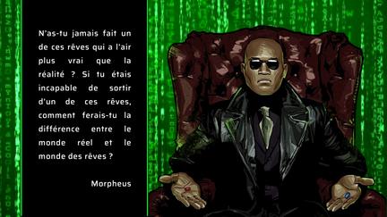 Fond d'écran Matrix