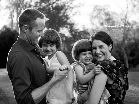 Family and fairies. The Momoff Family. South Brisbane Family photographer.