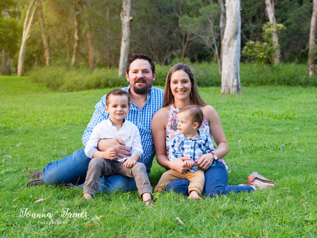 The Ralfe Family, Brisbane family photography.