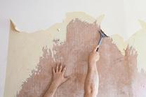 La eliminación del papel pintado