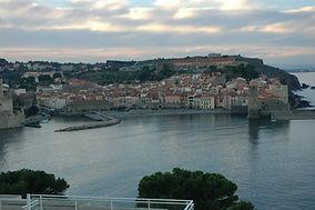 Collioure et ses anchois, ville des peintres (Dali,Matisse), tombe d'Antonio Machado