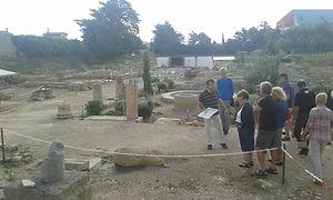 L Clos de la Lombarde, vestiges ROMAINS à Narbonne la fille de Rome