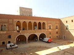 A Perpignan , e Palais des Rois de MAJORQUE