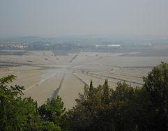 Nissan les Ensérune et le canal de Malpas