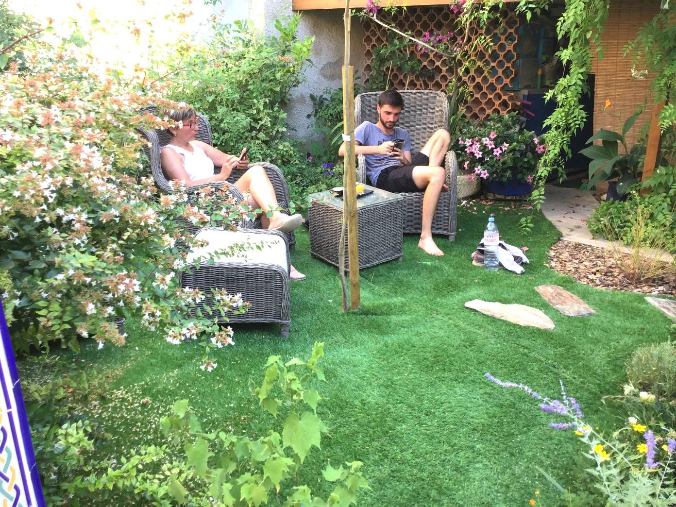 coin détente du jardin