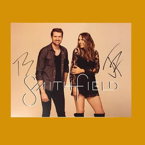 Autographed SmithField 8x10 Poster