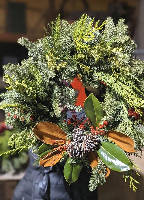 Fresh Greenery Wreath