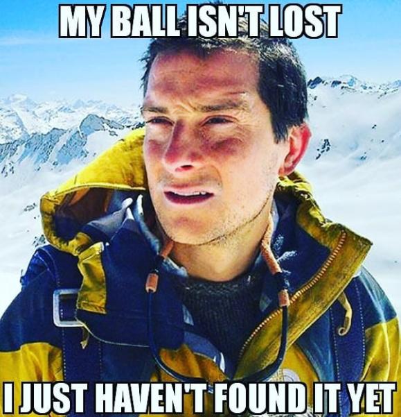 Lost Balls...