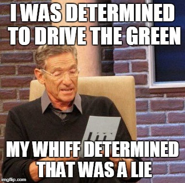 Drive the Green