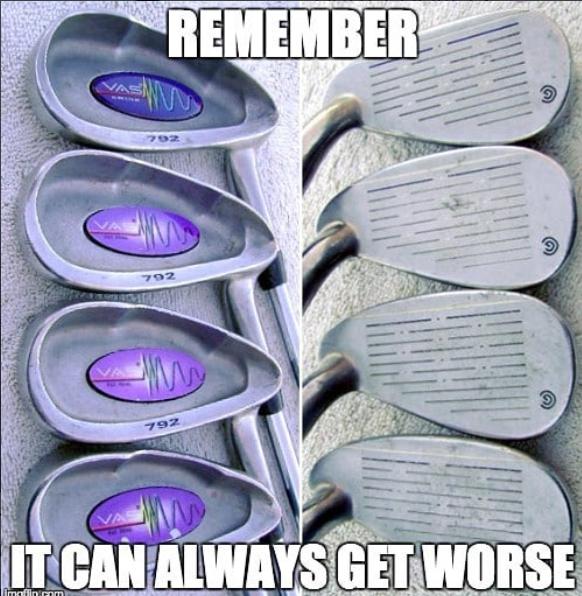 It can always get worse...